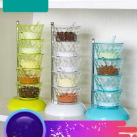 立式调味盒可旋转调料盒创意厨房用品用具调味瓶调料罐u0v