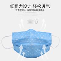个性口罩可爱韩版时尚卡通女神潮款一次性印花防尘透气口罩