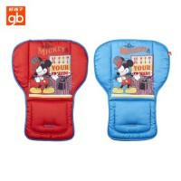 好孩子婴儿推车垫子 迪士尼双面坐垫宝宝棉垫 舒适透气MD800