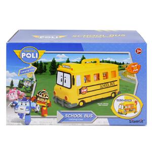 [当当自营]Silverlit 银辉 POLI系列 校车带储物仓 SVPOLI83148STD