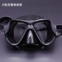 潜水镜 大框视野单防雾浮潜眼镜护鼻面罩泳镜儿童游泳新品