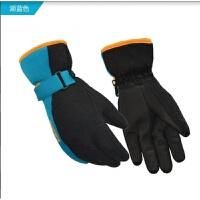 冬季男女保暖骑电动摩托车加厚防风防水滑雪手套防寒韩版新品 色 均码