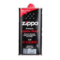 ZIPPO打火机油133ML355ML专用火石棉芯美国原装正版配