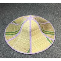 大沿草帽男 女款夏天潮可折叠遮阳太阳帽农民草帽 L(58-60cm)