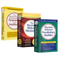 韦氏字根词典Merriam Webster's Vocabulary Builder英文词根辞典+同义词反义词词典字典
