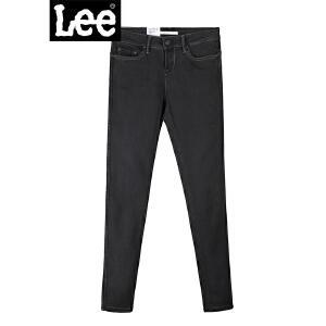 Lee新品商场同款优形丹宁中腰九分牛仔裤L12400AP97AR