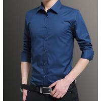 大码男衬衫爸爸装长袖衬衣户外新品网红同款薄款爸爸加肥加大宽松中老年男装