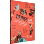 Vikings in 30 Seconds 英文原版 科普微阅读:30秒读懂维京人