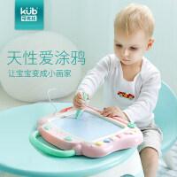 可优比儿童画板写字板宝宝彩色绘画磁性涂鸦板涂鸦板大号婴儿玩具