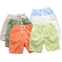 儿童短裤夏男宝宝中裤女童夏装男童裤子沙滩五分薄款
