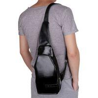 时尚运动男士单肩包胸包男韩版潮休闲包包挂包斜挎包多功能背包大