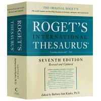 现货正版 罗热英语同义词词典 英文原版 英英字典辞典 Roget's International Thesaurus