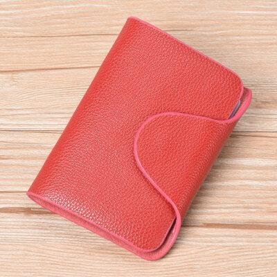牛皮卡包男士多卡位名片夹牛皮小卡夹女式卡片包*套卡袋 大红 发货周期:一般在付款后2-90天左右发货,具体发货时间请以与客服协商的时间为准
