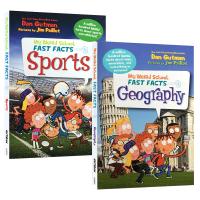 疯狂学校真实百科系列科普读物 英文原版 My Weird School Fast Facts Geography Spo