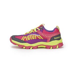 探路者童鞋 女童户外徒步童鞋品牌运动鞋