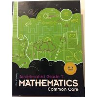Common core Accelerated Grade 7