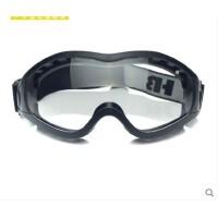 新款防风眼镜自行车防风镜CS防护镜骑行眼镜户外可戴近视两幅镜片