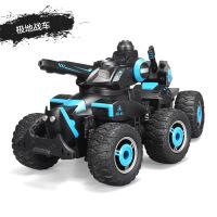 遥控坦克车可发射喷水对战坦克男孩越野遥控汽车坦克玩具车