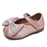女宝宝鞋子春秋季女童小皮鞋单鞋婴儿软底学步鞋小童公主鞋