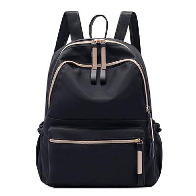 【2件99元】doodoo包包女2019新款轻便气质背包双肩包女包休闲包包立体防水女双肩包