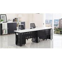 办公家具 办公桌椅组合 电脑桌简约现代办公室四人位员工桌定制桌