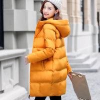 棉袄女2017新款冬季韩版外套中长款大码棉衣羽绒棉面包服大衣