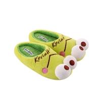 棉拖鞋包跟男女宝宝家居鞋室内小孩地板鞋子一家三口秋冬季