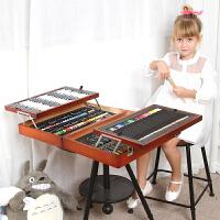 儿童学习用品画笔文具套装男孩女孩绘画文具奖品礼物礼盒木质生日