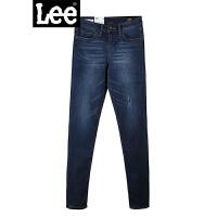 Lee女装 2018秋冬新品商场同款暖岩恒温破洞牛仔裤LWN4182TY6WP