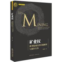 矿业权典型疑难法律问题解析与操作实务