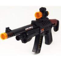 儿童电动玩具枪冲锋枪小孩3岁音乐枪道具宝宝电动枪声光玩具男孩