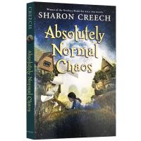 正版现货 完全正常的混乱 英文原版儿童文学英语日记 Absolutely Normal Chaos 纽伯瑞金奖小说 莎