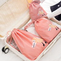 便携收纳袋套装 男女士出差旅行拉杆箱收纳包行李箱整理袋大号韩版防水衣物整理包三件套