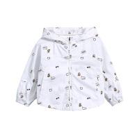 【3件6折】小猪班纳童装女宝宝连帽外套小童春装拉链衫2019新款幼童上衣