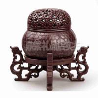 精品佛教佛具用品 檀香薰线香炉创意香道香炉摆件 创意礼品