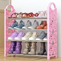 索尔诺铁艺简易鞋架 多层收纳鞋柜简约经济型组装防尘鞋架子XJH164
