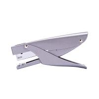 得力文具0346中型订书机订书器 金属材质 12#订书钉手握订书机 颜色混发