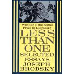 【预订】Less Than One Selected Essays