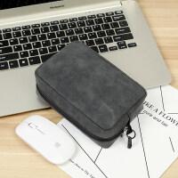 苹果小米华为笔记本电脑鼠标充电器电源线配件收纳包收纳袋