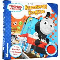托马斯和他的朋友们 英文原版 Thomas and Friends The Runaway Engine 翻翻立体发音
