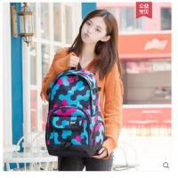 日韩版大学生双肩包男校园书包女高中学生时尚潮流背包学院风旅行