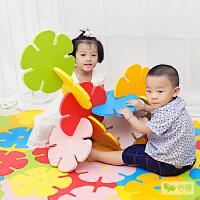 【当当自营】谷播 儿童游戏垫创意雪花片宝宝儿童环保EVA拼接地垫