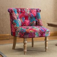 20190802010536478欧式复古单人沙发皮布艺时尚小户型卧室电脑美甲椅子服装店铺沙发