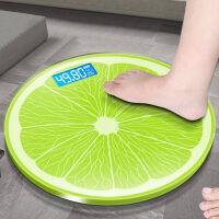 家用称体重电子秤圆形减肥体重秤可爱充电学生称重器人体秤 电子秤体重秤