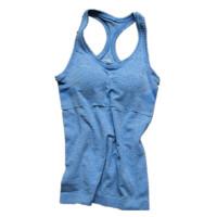 【速干衣裤 速干服】透气速干舒适柔软运动瑜伽背心 有可拆卸胸垫 时尚潮流跑步健身上衣