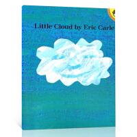 顺丰发货 Little Cloud 小云朵 Eric Carle 艾瑞・卡尔经典作品 美国Top 100百本必读 廖彩杏推荐英文原版绘本 大开本 送音频