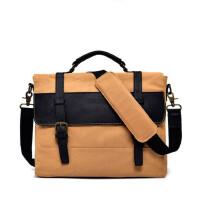 帆布包男包包单肩包斜挎包韩版手提大容量休闲包男士包