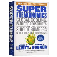 SuperFreakonomics 英文原版 魔鬼经济学 超爆魔鬼经济学 英文版 比尔盖茨推荐 进口英语书籍