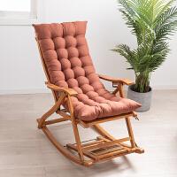 摇椅午睡椅躺椅折叠午休逍遥椅家用摇摇椅阳台休闲老人实木椅