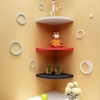 创意格架墙壁上三角扇形搁板转角墙角置物架壁挂隔板书架装饰